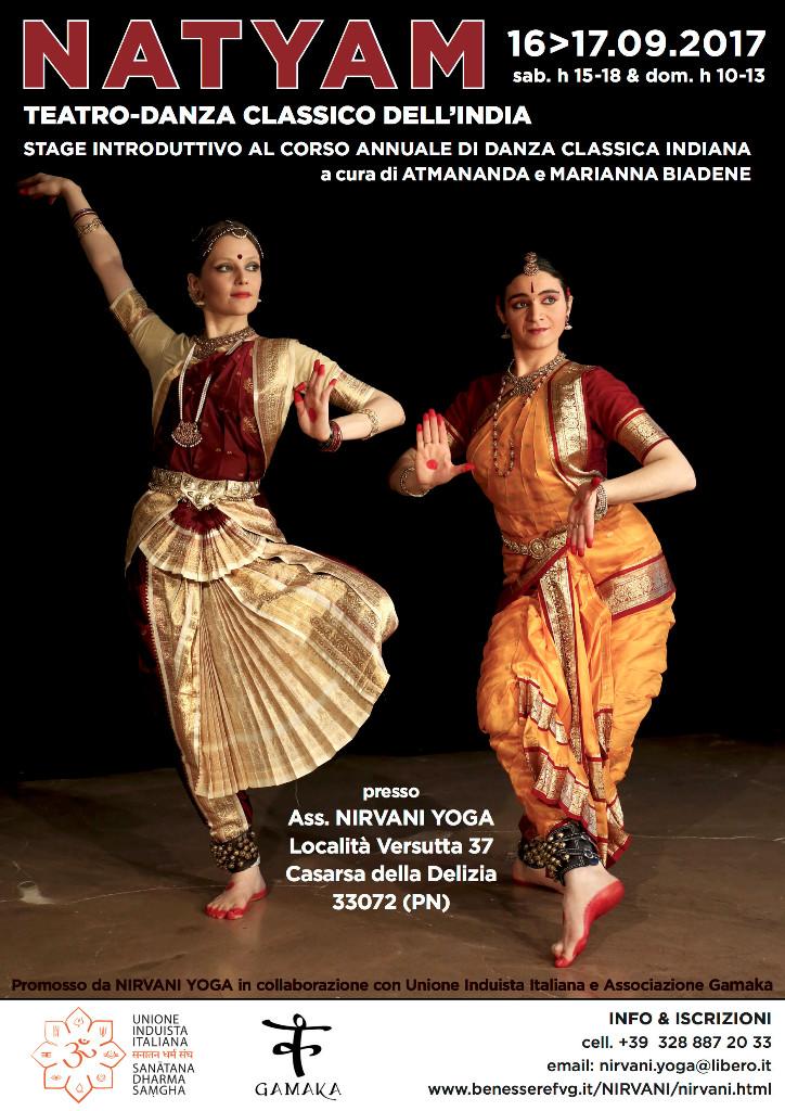 spettacolo di danza indiana
